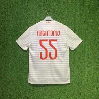 NIKE INTER 14/15 SS (AWAY) STADIUM JSY 611063-106 with Nameset (#55 NAGATOMO)