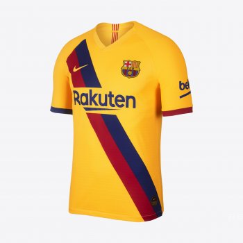 NIKE FC BARCELONA 19/20 (AWAY) VAPOR MATCH S/S JSY AJ5256-728 with La liga Nameset