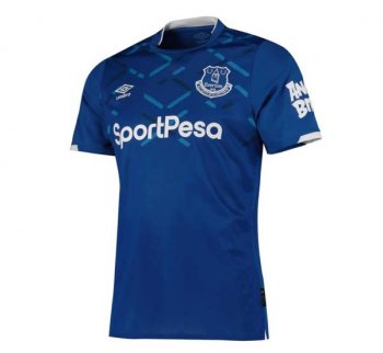 UMBRO EVERTON 19/20 HOME S/S 90400U with Nameset
