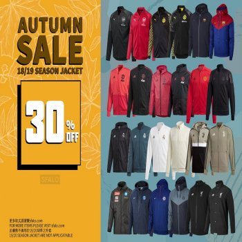 18/19 SEASON JACKET 30% OFF