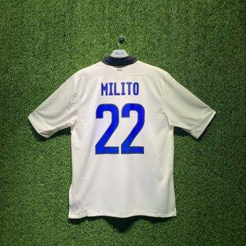 INTER MILAN 11/12 (AWAY) S/S 419986-105 w/ NAMESET (#22 MILITO)