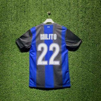 INTER MILAN 12/13 (HOME) S/S 479315-010 w/ NAMESET (#22 MILITO)