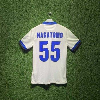 INTER MILAN 13/14 (AWAY) S/S 532847-106 w/ NAMESET (#55 NAGATOMO)