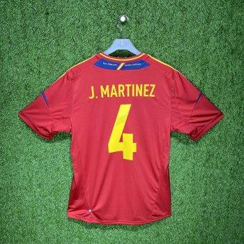 Adidas Spain 2012 (H) S/S X10937 #4 J.MARTINEZ