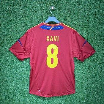 Adidas Spain 2012 (H) S/S X10937 #8 XAVI