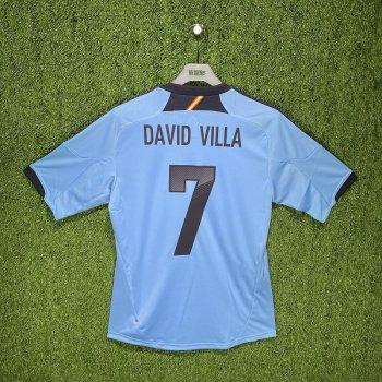 Adidas Spain 2012 (A) S/S X10937 #7 DAVID VILLA