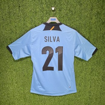 Adidas Spain 2012 (A) S/S X10937 #21 SILVA
