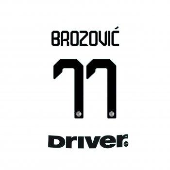 INTER M 19/20 A BLK #77 BROZOVIC + BACK SPONSOR
