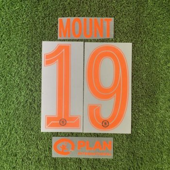 Chelsea 19/20 3RD ORG#19 MOUNT and BACK SPONSOR