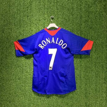 MAN UTD 05/06 (AWAY) S/S w/ NAMESET (#7 RONALDO)