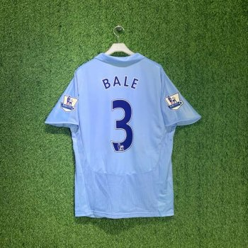 TOTTENHAM HOTSPUR 08/09 (AWAY) S/S w/ NAMESET (#3 BALE)  + EPL BADGE