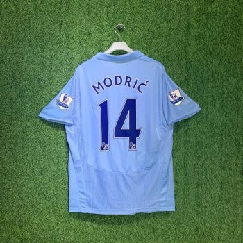 TOTTENHAM HOTSPUR 08/09 (AWAY) S/S w/ NAMESET (#14 MODRIC)  + EPL BADGE