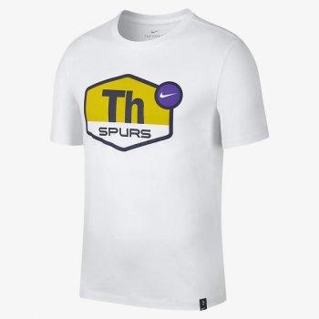 Nike Tottenham Hotspur TEE EVGRN TAGLINE WHITE AR0191 -100