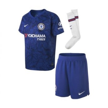 NIKE CHELSEA 19/20 (H) LITTLE KIDS SET AO3050-495
