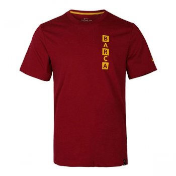 NIKE FC BARCELONA TEE KIT STORY TEL NOBLE RED AQ7515-620