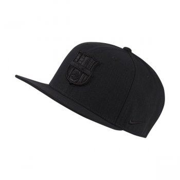 NIKE FC Barcelona PRO CAP BLACK/BLACK BV4269-010