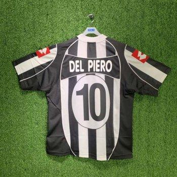 LOTTE JUVENTUS 02/03 (HOME) S/S D4285 w/ NAMESET ( #10 DEL PIERO)