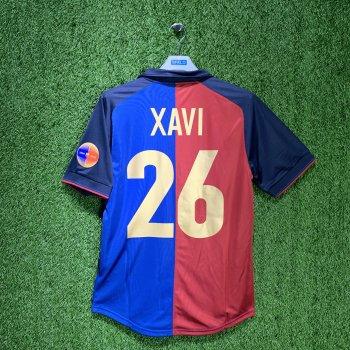 BARCELONA 99/00 Centenary Home Shirt w/ Nameset (#26 XAVI)
