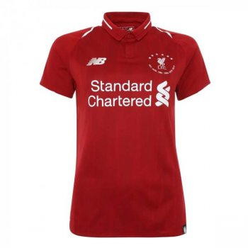 NB LIVERPOOL FC 19/20 6 TIMES HOME WOMEN S/S JSY WT930501
