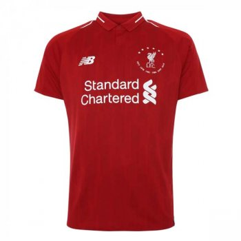 NB LIVERPOOL FC 19/20 6 TIMES HOME JUNIOR S/S JERSEY JT930501   (PRE-ORDER)