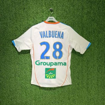 Olympique Marseille 12/13 (HOME) S/S JSY X21902 w/ NAMESET (#28 VALBUENA)