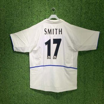 LEEDS UNITED 02/03 (HOME) S/S JSY 185180-101 w/ NAMESET (#17 SMITH)