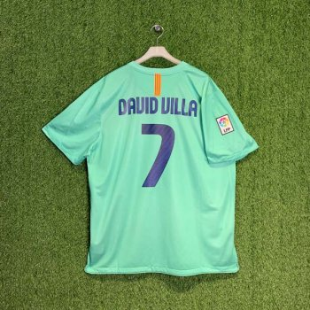 BARCELONA 10/11 (AWAY) S/S JSY w/ NAMESET (#7 DAVID VILLA)
