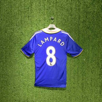 ADIDAS CHELSEA 08/09 (HOME) S/S JSY 656133 w/ NAMESET (#8 LAMPARD)