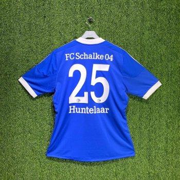 Adidas FC Schalke 04 12/13 (H) S/S X50156 with #25 Huntelaar