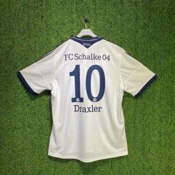 Adidas FC Schalke 04 13/14  (A) S/S Z26020 with #10 Draxler