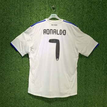 REAL MADRID 10/11 UCL (HOME) S/S JSY P96001 w/ NAMESET (#7 RONALDO)