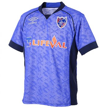 UMBRO FC TOKYO 17 PRACTICE S/S JSY UDS7726TK BLU
