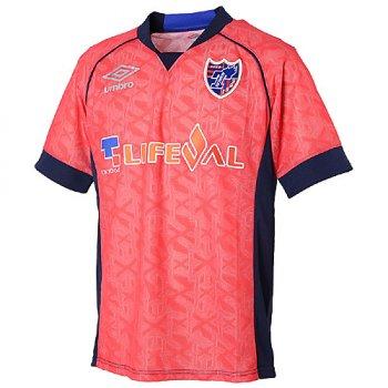 UMBRO FC TOKYO 17 PRACTICE S/S JSY UDS7726TK PRED