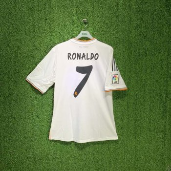 REAL MADRID 13/14 (HOME) S/S JSY Z29356 w/ NAMESET (#7 RONALDO)