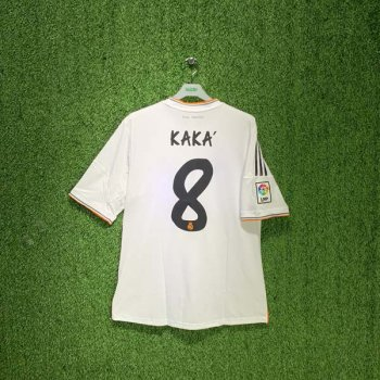 REAL MADRID 13/14 (HOME) S/S JSY Z29356 w/ NAMESET (#8 KAKA)