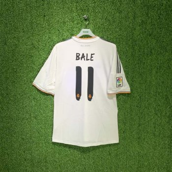 REAL MADRID 13/14 (HOME) S/S JSY Z29356 w/ NAMESET (#11 BALE)
