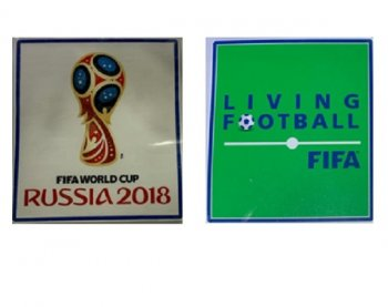 2018 FIFA WC & Living Football Pair Patches,public version