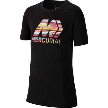 NIKE MERC JUNIOR DRY TEE BLACK CD5262-010