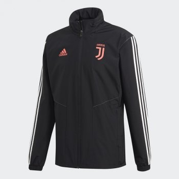 ADIDAS JUV 19/20 BLACK RAIN JACKET DX9134