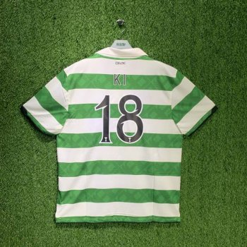 CELTIC 10/11 (HOME) S/S JSY 381813-378 w/ NAMESET (#18 KI)