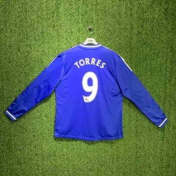 Adidas Chelsea FC 13/14 (H) L/S JSY G90169 with #9 TORRES