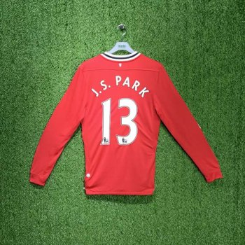 Nike Manchester United 11/12  (H) L/S JSY 423933-623 with #13 J.S. PARK